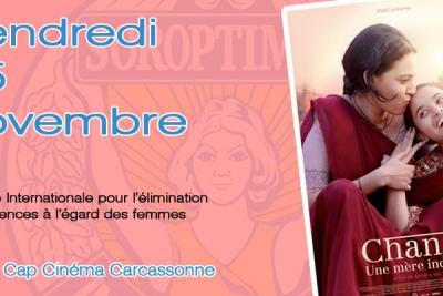 Le film Chanda, une mère indienne, à Carcassonne, le 25 novembre, au bénéfice des victimes des violences intra-familiales